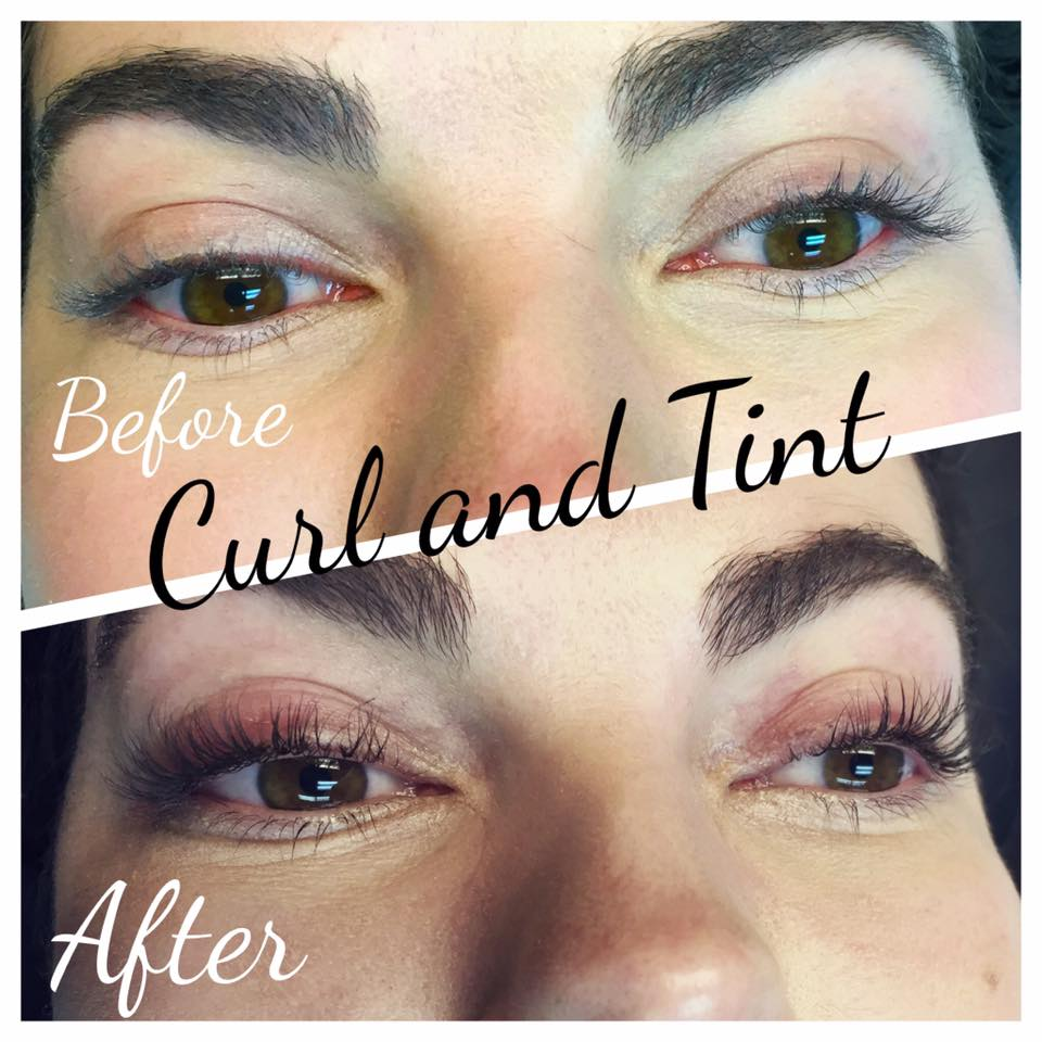 Lash Tint And Perm